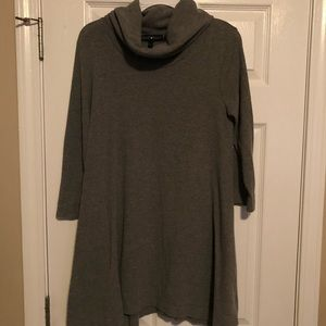 Derek Heart Turtle Neck Sweater Dress